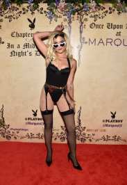 Halsey at Playboy's Midsummer Night's Dream at Marquee Nightclub