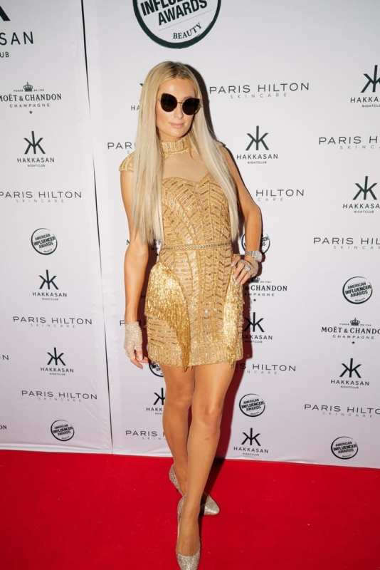 Paris Hilton at Hakkasan Las Vegas Nightclub