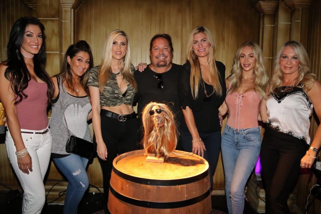 Vince Neil Unveils Shrunken Head at The Golden Tiki