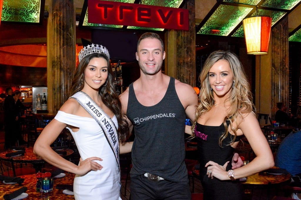 Carolina Urrea, James Davis and Mariah Rivera at TREVI Charity Pizza Cook Off
