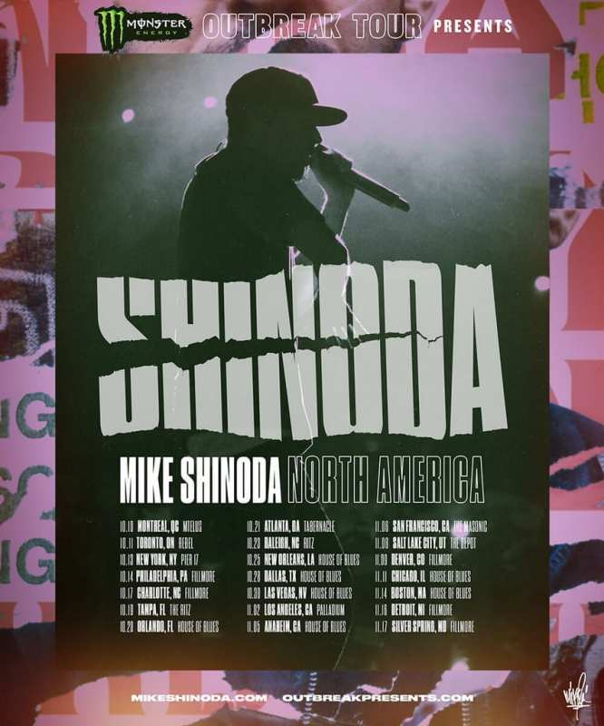 Mike Shinoda - Monster Energy Outbreak Tour