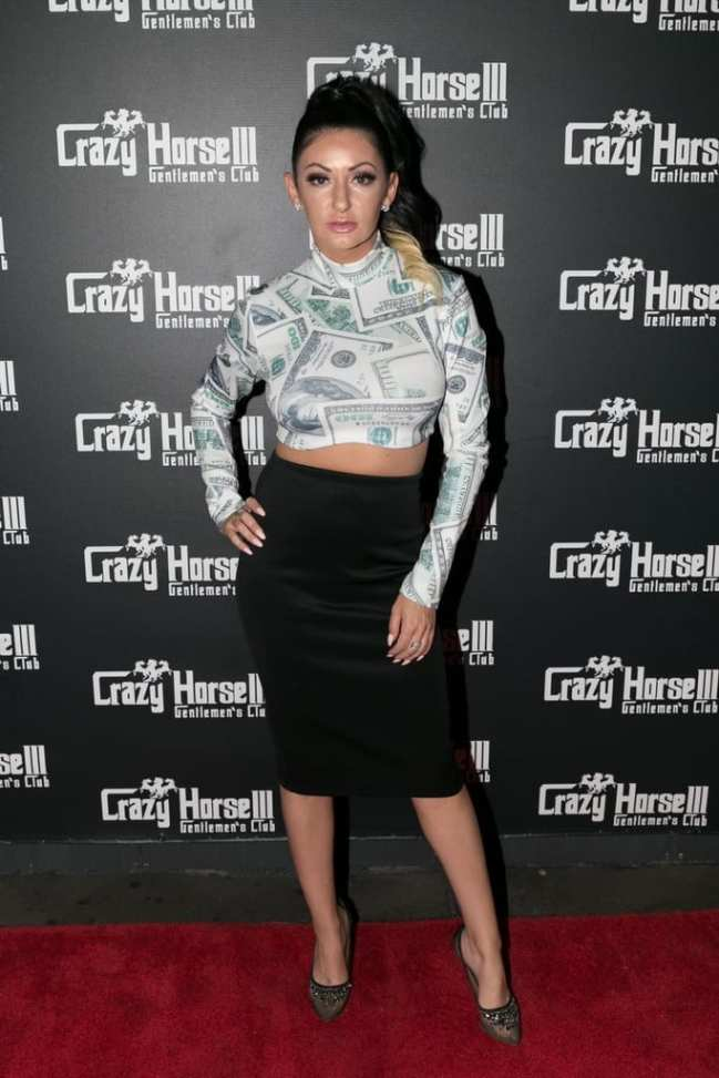 Heather Marianna on the Crazy Horse III Red Carpet