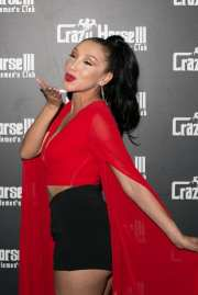 Vicki Chase on the Crazy Horse III Red Carpet