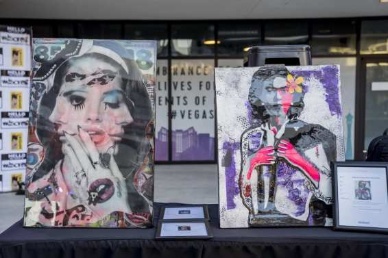 Las Vegas Fashion Council - Amazing silent auction items up for bid. Photo Credit_ Joel Cada