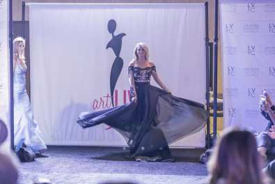 Las Vegas Fashion Council - Beautiful gown makes debut during fashion show. Photo Credit_ Joel Cada