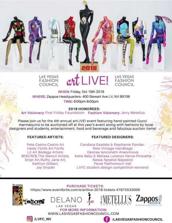 Las Vegas Fashion Council artLIVE!