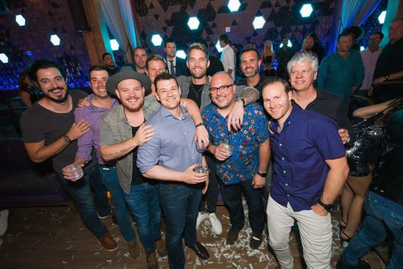 Platinum-selling Country Artist Brett Young Enjoys Bachelor Party at OMNIA Nightclub Las Vegas on Sunday, Sept. 30 _ Photo Credit Mike Kirschbaum