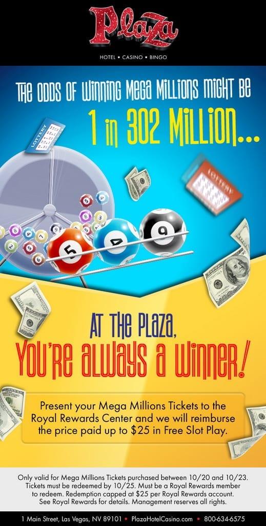 Plaza Hotel & Casino - Mega Millions Powerball