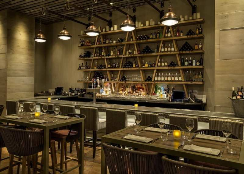 CRUSH Dining Room and Wine Bar, by Brian Brown