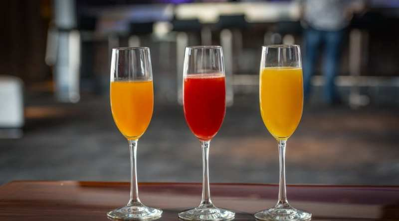 Cabo Wabo Cantina's Mimosas and Bellini, by J. Rick Martin