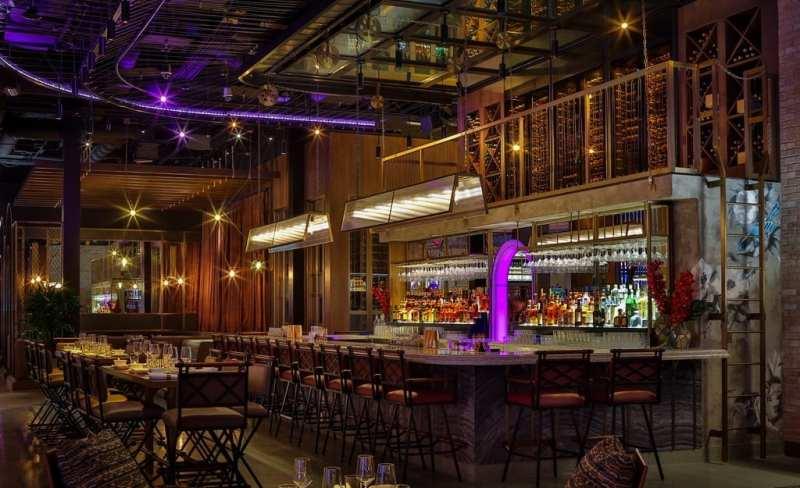 Bar at Mott 32 at The Venetian Resort Las Vegas_credit Erik Kabik