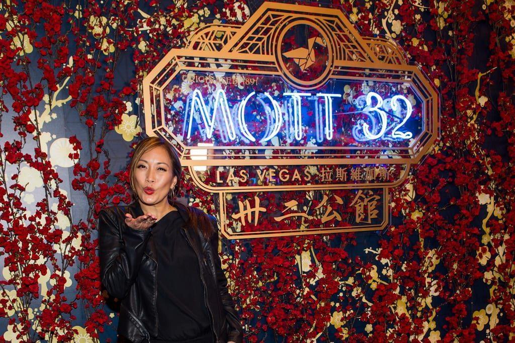 Carrie Ann Inaba at the Mott 32 grand opening at The Venetian Resort Las Vegas, 12.28.18_Credit Brenton Ho