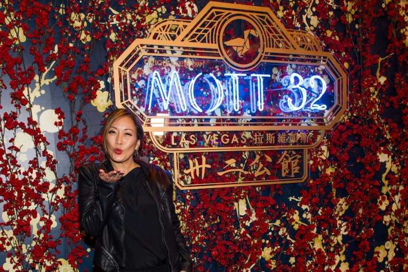 Carrie Ann Inaba at the Mott 32 grand opening at The Venetian Resort Las Vegas, 12.28.18_Credit Brenton Ho