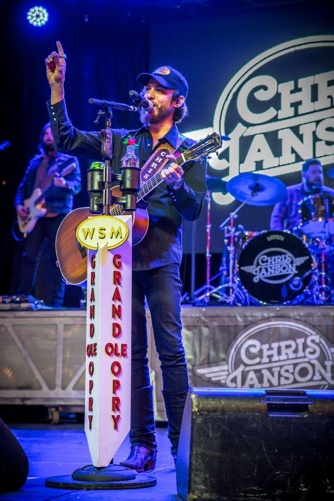 Chris Janson wraps up the 32nd Annual Downtown Hoedown on 3rd Street Stage at Fremont Street Experience, 12.5.18