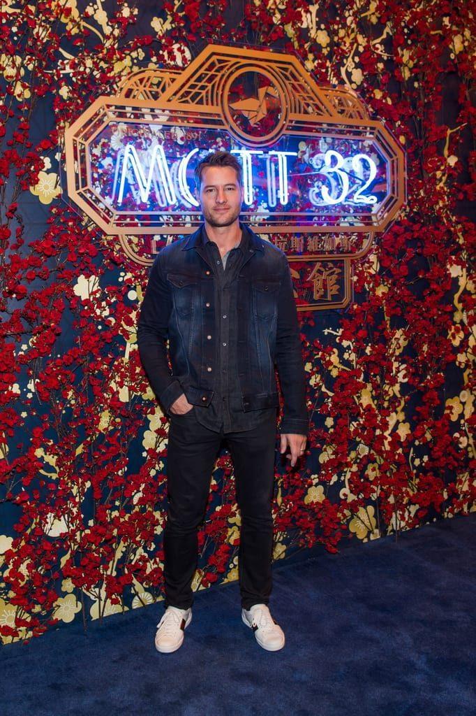 Justin Hartley attends the Mott 32 grand opening at The Venetian Resort Las Vegas, 12.28.18_credit Brenton Ho