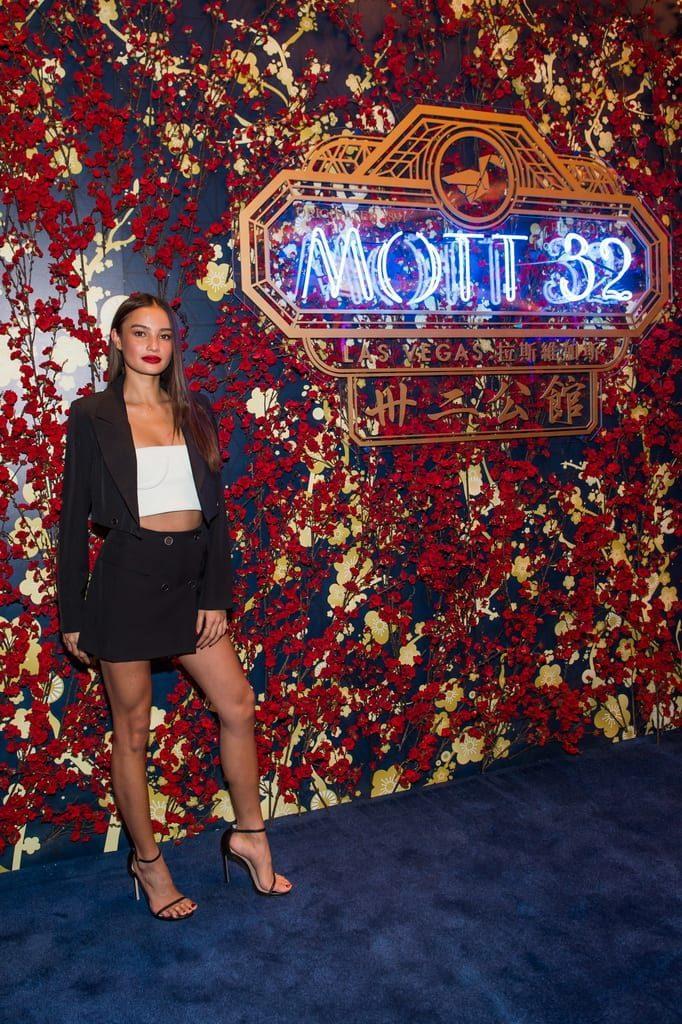 Kelsey Merritt attends the Mott 32 grand opening at The Venetian Resort Las Vegas, 12.28.18_credit Brenton Ho (2)