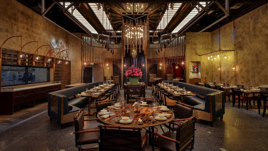 Main dining room at Mott 32 at The Venetian Resort Las Vegas_credit Erik Kabik