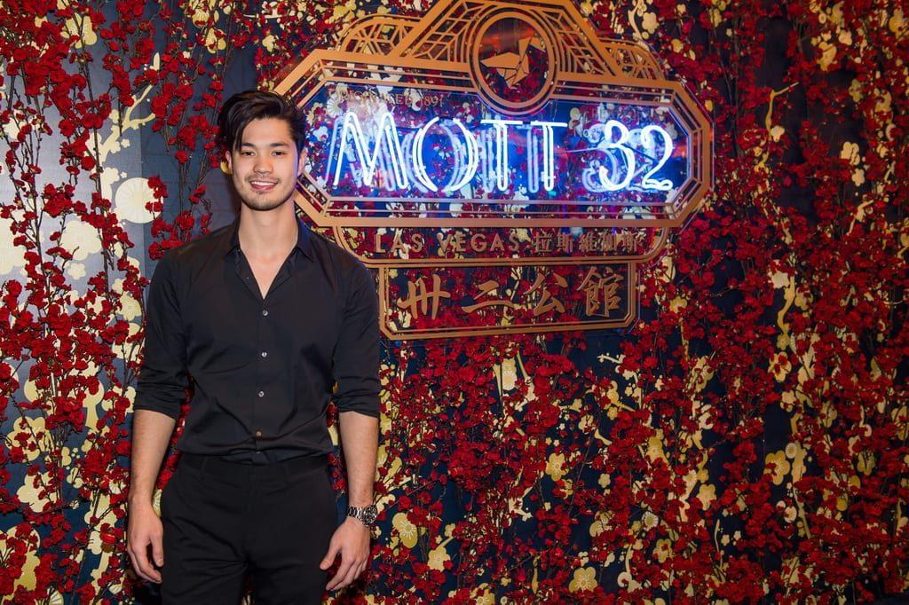 Ross Butler attends the Mott 32 grand opening at The Venetian Resort Las Vegas, 12.28.18_credit Brenton Ho (2)