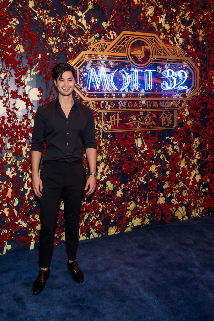 Ross Butler attends the Mott 32 grand opening at The Venetian Resort Las Vegas, 12.28.18_credit Brenton Ho