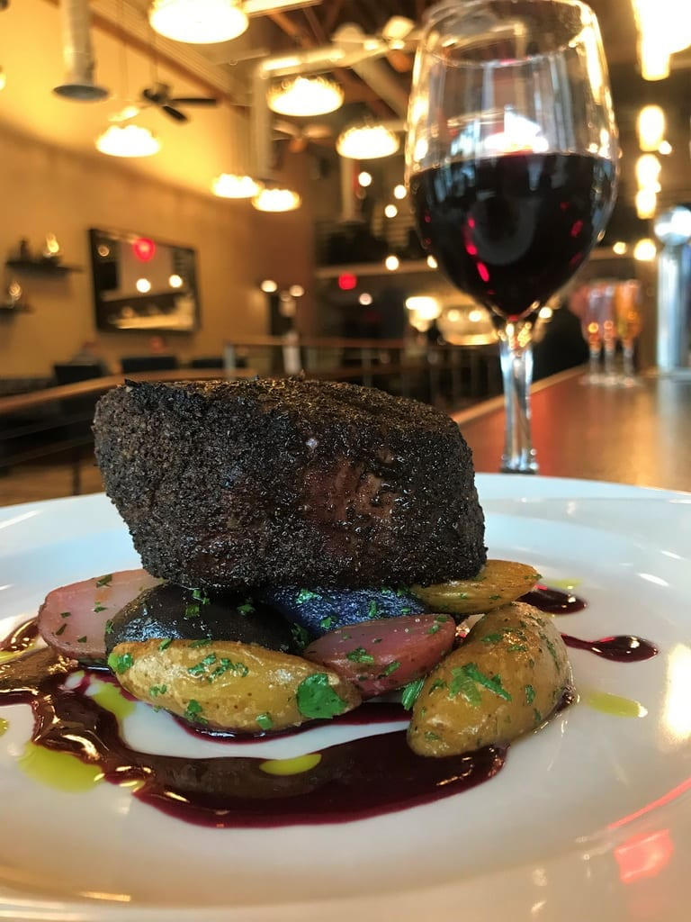 Therapy Restaurant's Steak & Wine Pairing