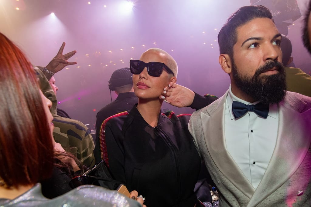Model and Actress Amber Rose Parties into 2019 at JEWEL Nightclub Inside ARIA Resort & Casino _ Photo Credit Wolf Productions