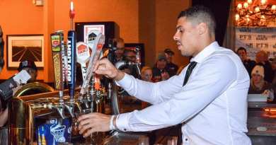 PT's Entertainment Group - Ryan Reaves Pouring 7Five Training Day Beer