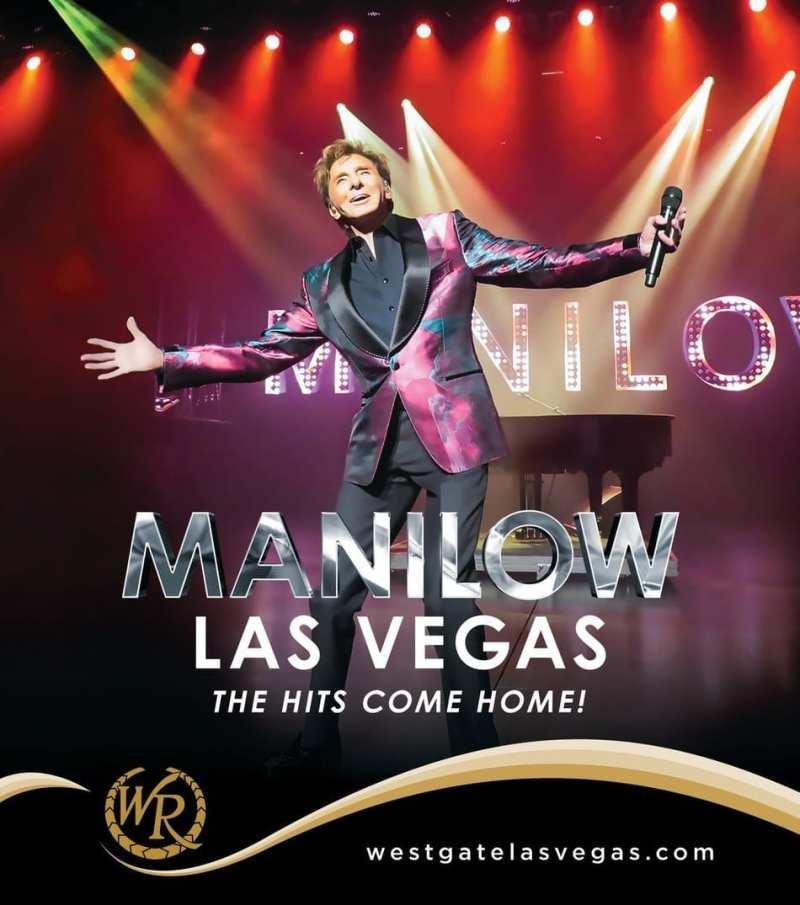 MANILOW: LAS VEGAS – The Hits Come Home!
