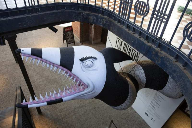 Tim Burton Exhibit - Photo Courtesy of Neon Museum