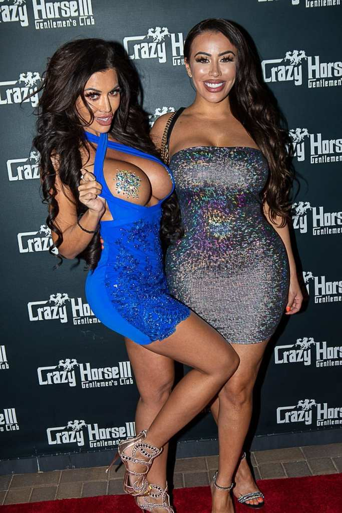 Toochi Kash and BBB Love on Crazy Horse 3 Red Carpet