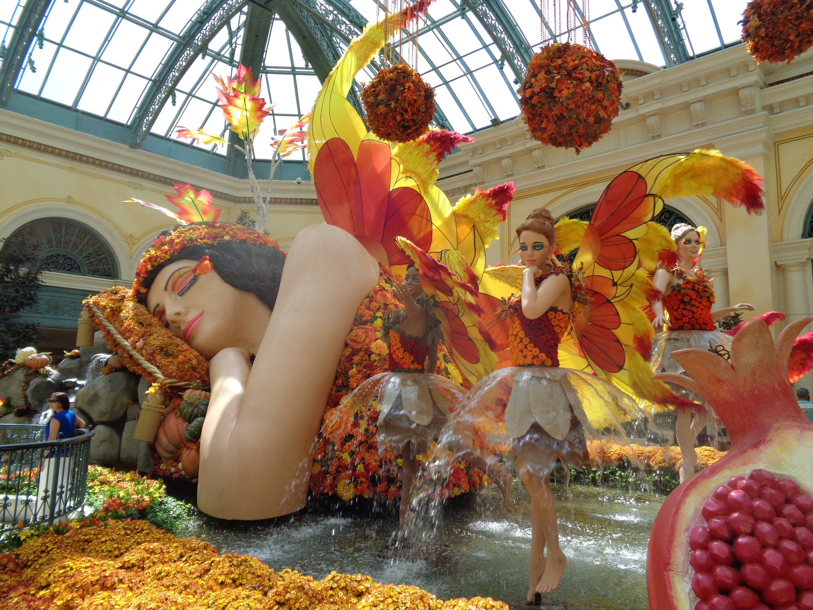 Bellagio Conservatory Fall Display \