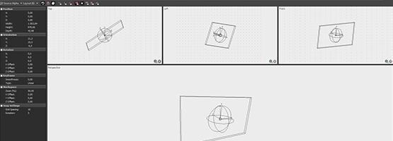 Integrated 3D adjustments