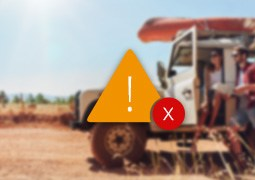 Delete track warning