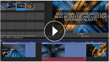 Dynamic storyboard and timeline interaction