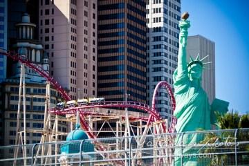 Adrenaline rush Las Vegas - New York New York roller coaster