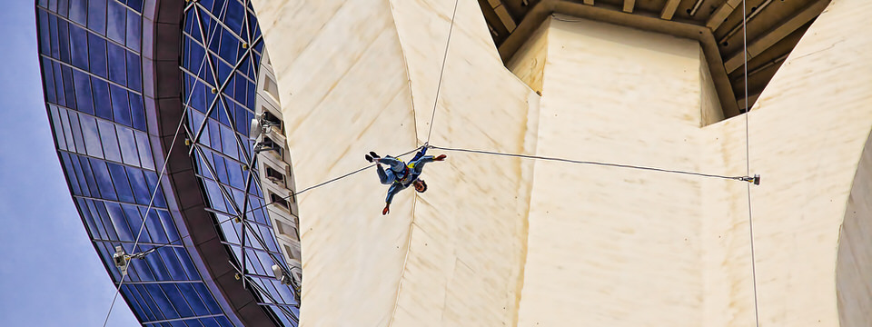 Stratosphere jumper