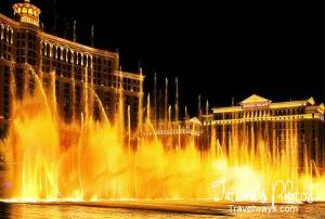 Bellagio dancing fountains
