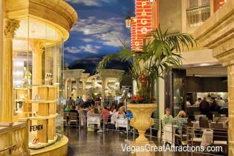 Dining Out at Forum Shops at Caesar Palace