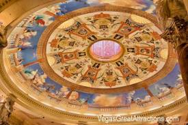 Painted Ceiling at the Caesars Palace, Las Vegas