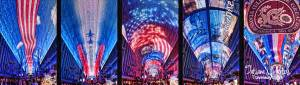 Fremont Experience Ceiling Show