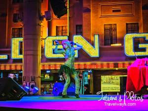Fremont Street Experience, night entertainment