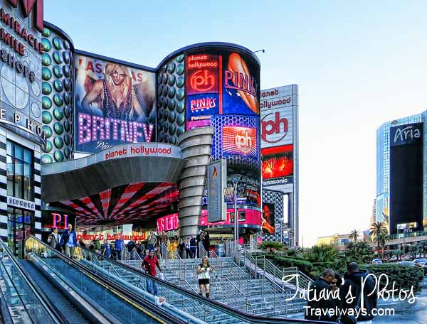 Planet Hollywood, Shopping Mall, Las Vegas - Miracle Mile Shops