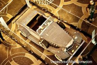 Liberace's car at Cosmopolitan, view from above