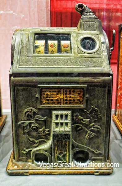 Gambling Machine at Nevada State Museum, Las Vegas