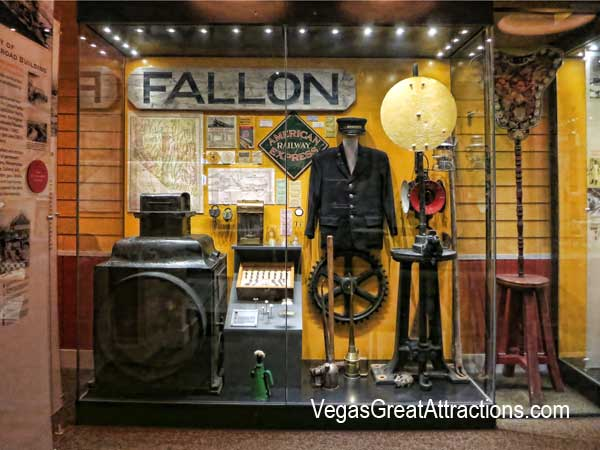 Nevada State Museum in Las Vegas - Permanent Exhibition on Las Vegas history