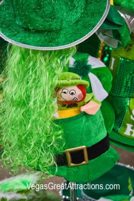 Green things to wear on St. Patrick's Day Day 2015, Fremont Street Experience
