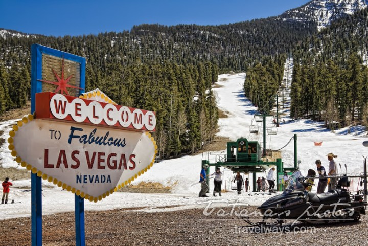 Las Vegas Ski Resort - Mt. Charleston