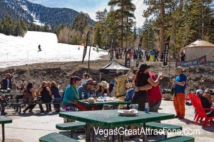 End of the ski season in Las Vegas, party