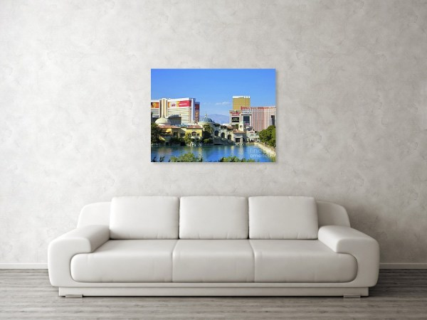 Bellagio villa framed art print