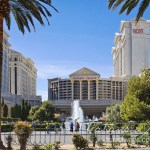 Photo: Caesars Palace Fountain on Las Vegas Strip – In The Guinness World Records