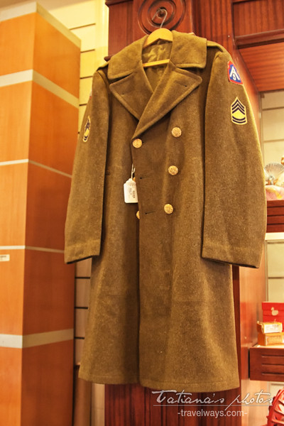 Old military coat